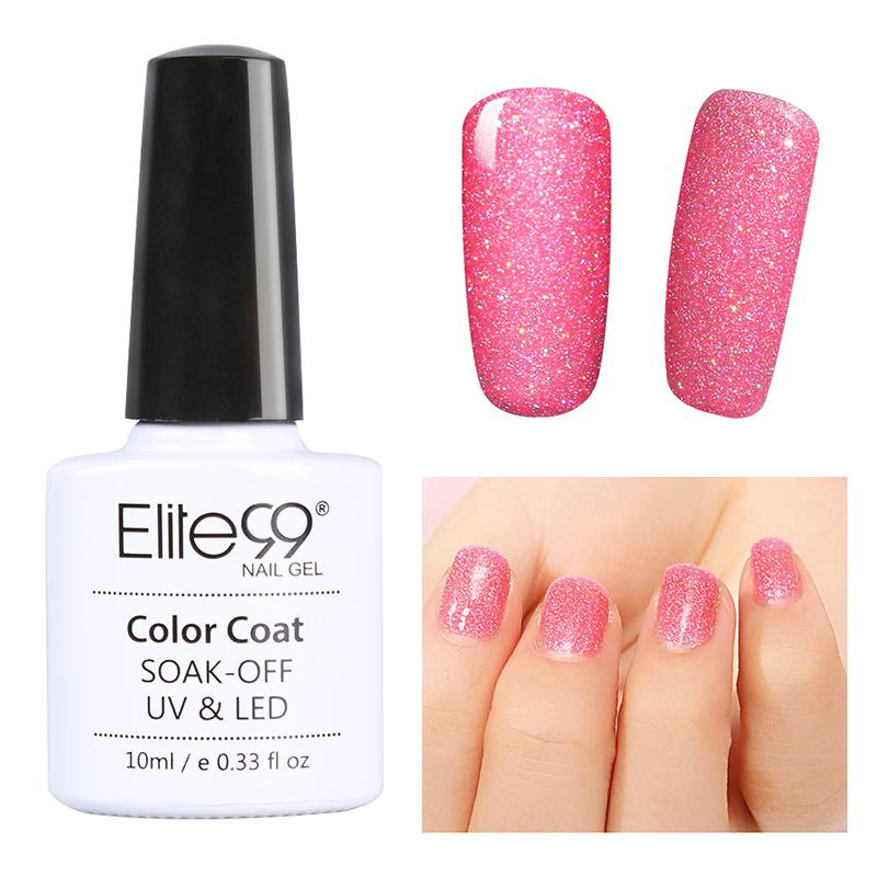 Neon Nail Polish Uk: Elite99 Bling Neon UV LED Gel Nail Polish Glitter UK Stock